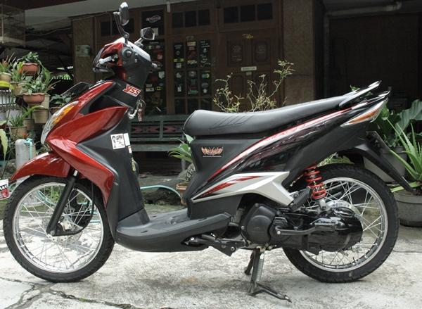 Modifikasi Mio Velg 16 Modif Motor Terbaru 2019